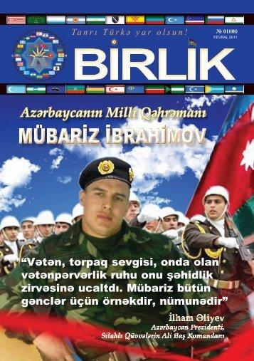 Azərbaycanın Milli Qəhrəmanı - 1