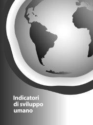 Indicatori di sviluppo umano - Human Development Reports