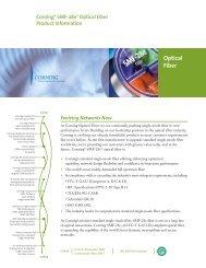 Corning® SMF-28e® Optical Fiber - Princetel Inc.