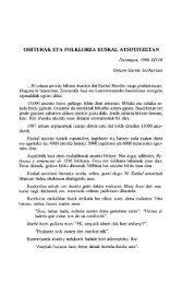 ohiturak eta folklorea euskal atsotitzetan - Euskaltzaindia