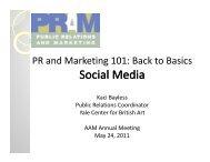 S i lM di ocial Media Social Media - PRAM