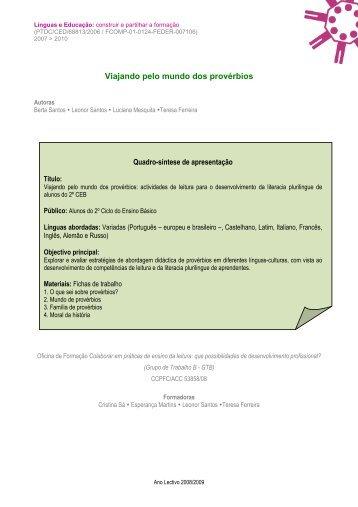 pdf materiais didácticos - Línguas & Educação