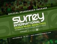 TITLE - DI - Surrey International World Music Marathon