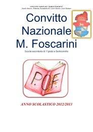 POF scuola media - Il Convitto Nazionale Foscarini di Venezia