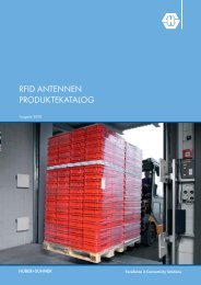 RFID Antennen - Huber+Suhner
