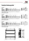 Tragschienen gehäuse - - elcon electronic GmbH - Seite 7