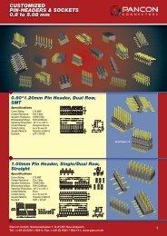 2.00mm Pin Header, Dual Row, SMT - Elcon