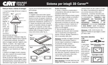 Sistema per intagli 3D Carver