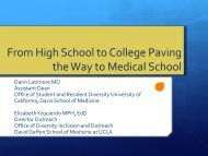 Paving the Way to Medical School - AAMC