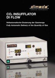 CO2 INSUFFLATOR DI FLOW - Dimeda Instrumente GmbH