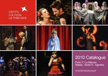 Catalogo 2010_English version.cdr - Centro Cultural La Máscara