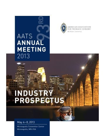 Exhibit Hours - American Association for Thoracic Surgery