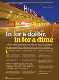 In for a dollar, in for a dime - Future Airport