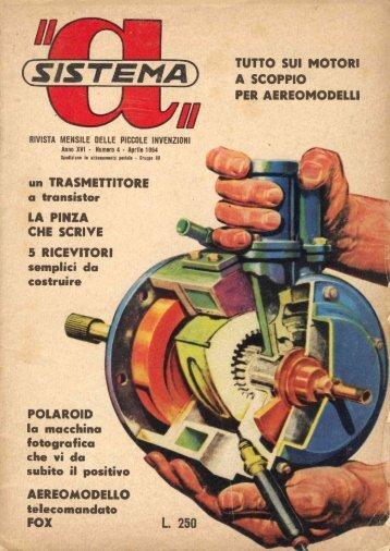 TUTTO SUI MOTORI A SCOPPIO PER AEREOMODEI.I.I - Introni.it