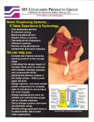 Novel Dispensing Systems - Stress Engineering Services