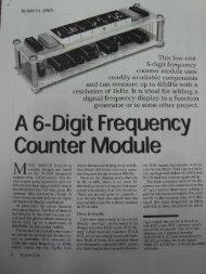 6 Digit Frequency Counter - EEVblog