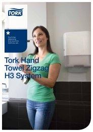 Tork Hand Towel Zigzag H3 System - Tork Elevation