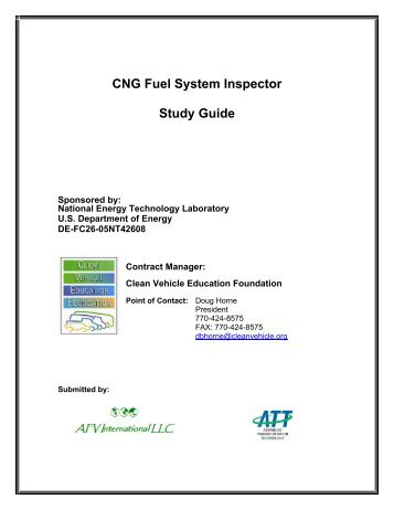 CNG Fuel System Inspector Study Guide - afdc.energy.gov