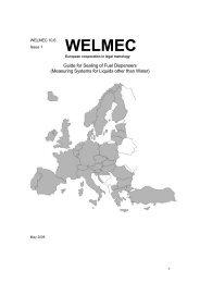Guide for Sealing of Fuel Dispensers - WELMEC