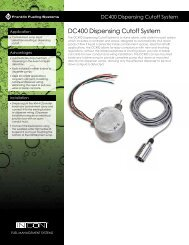 DC400 Dispensing Cutoff System - Franklin Fueling Systems