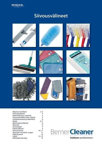 Siivousväline-esite_2011 - Berner Puhtaus & Hygienia