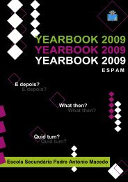 yearbook 2009 yearbook 2009 yearbook 2009 - Escola Secundária ...