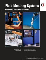 Fluid Metering Systems Catalog - Graco Inc.