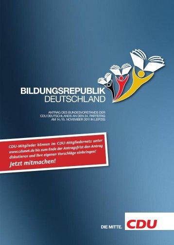 Antrag-Bildungsrepublik-Deutschland