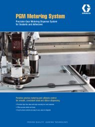 PGM Metering System - Graco - Graco Inc.