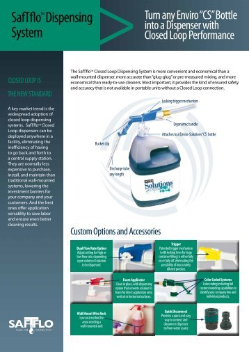 SafTflo Dispensing System