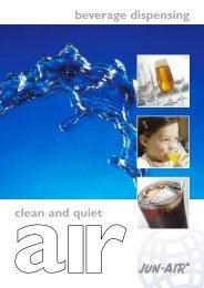beverage dispensing clean and quiet - Jun-Air