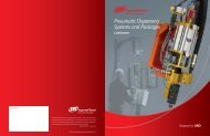 Pneumatic Dispensing Systems and Packages - Ingersoll Rand