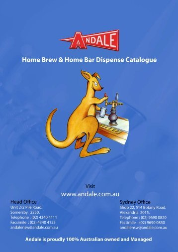 Andale Have Been Helping Australia Dispense beer For