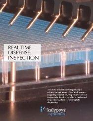 Kalypsys Systems : Dispense Inspection System - Wako USA