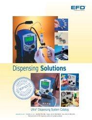 The full catalog (PDF) of EFD Ultra Dispensing - Fab@Home