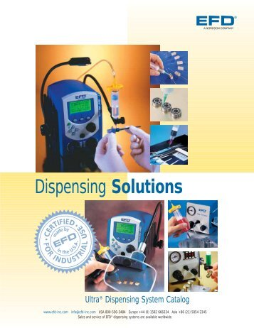 The full catalog (PDF) of EFD Ultra Dispensing - Fab@Home