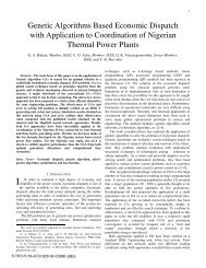 Genetic Algorithms Based Economic Dispatch with Application ... - rtpis