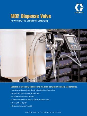 MD2 Dispense Valve - Graco Inc.