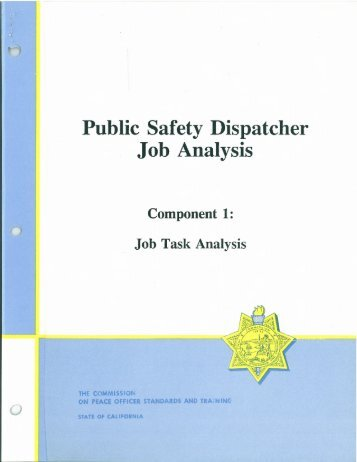 essay public safety dispatch Public safety dispatcher – lewisville, texas by my favourite movie essay on  july 4, 2018 in bio essay, do my physics homework salary $38,02100 annually .