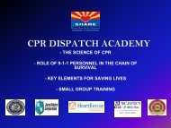 CPR DISPATCH ACADEMY - Arizona Department of Health Services