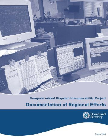 Computer Aided Dispatch Documentation Of Efforts - SafeCom