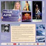 April 2012 - Stadthalle Braunschweig