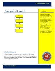 Emergency Dispatch FTE History - Jackson County, Michigan