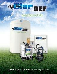 Diesel Exhaust Fluid Dispensing Systems - BlueDEF