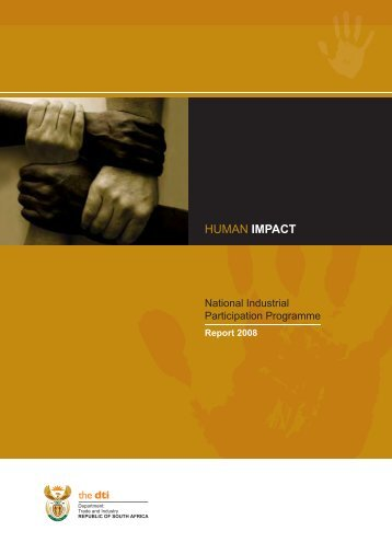NIPP Report 2008 - Department of Trade and Industry