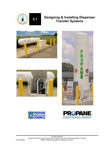 5.1 Designing & Installing Dispenser Transfer Systems
