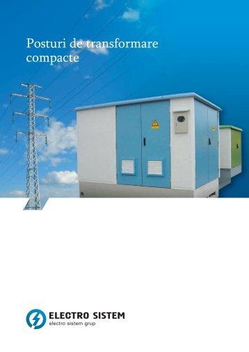 Posturi de transformare compacte - electro sistem grup