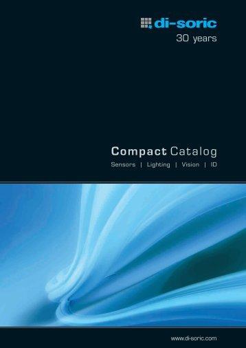 Compact Catalog - Di-soric