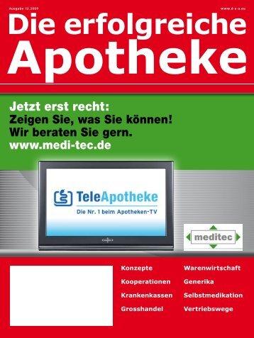 Ausgabe 12.2009 - Die erfolgreiche Apotheke