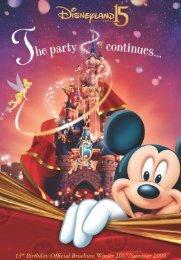 Disney Characters - Disneyland® Paris